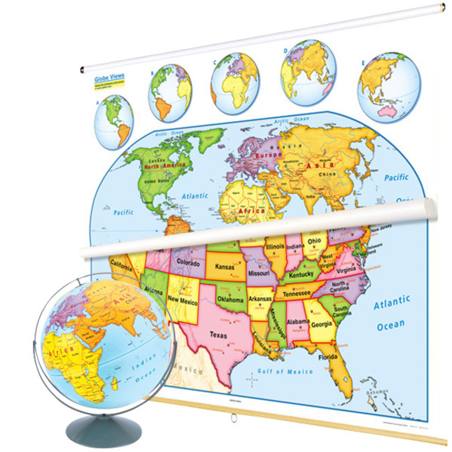 Maps, Globes Supplies, Item Number 1398255