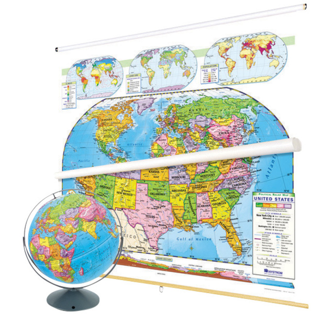 Maps, Globes Supplies, Item Number 1398284