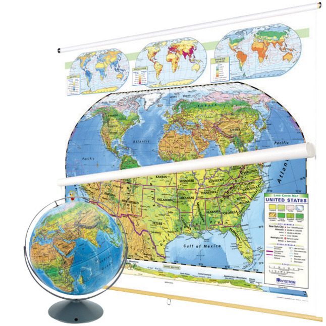 Maps, Globes Supplies, Item Number 1398285