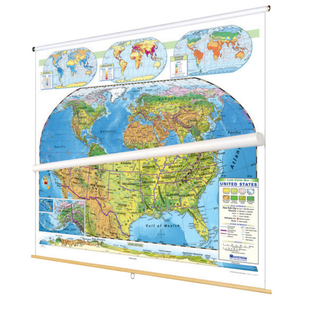 Maps, Globes Supplies, Item Number 1398310