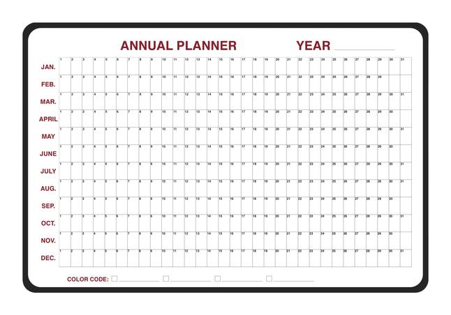 Planner Boards, Item Number 1399720