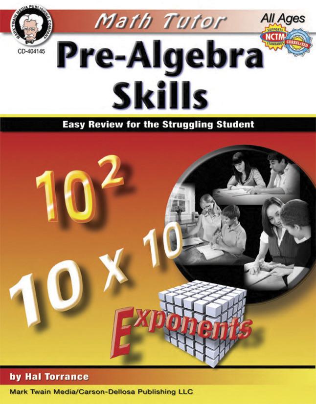 Algebra Books, Algebra Supplies, Item Number 1399976