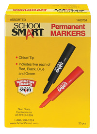 Permanent Markers, Item Number 1400754