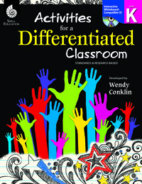 Differentiated Instruction Strategies, Differentiated Instruction Resources Supplies, Item Number 1400891