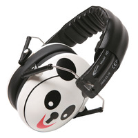 Califone Hush Buddy HS-PA Earmuff Hearing Protector, Over-Ear, Panda, Each Item Number 1543887