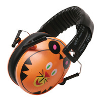 Califone HS-TI Hush Buddy Tiger Themed Earmuff Hearing Protector Item Number 1543888