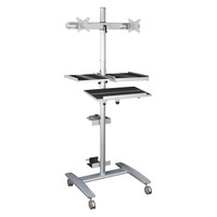 MooreCo Balt Workstation Camera Shelf, For Use with Beta Sit-Stand Workstation, 15 x 13-3/4 Inches Item Number 1434017