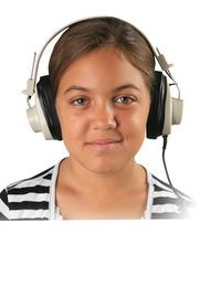 Califone 2924AVP Deluxe Monaural Headphones Item Number 1543830