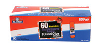 Elmer's Washable School Glue Sticks, 0.24 Ounce, Disappearing Purple, Pack of 60 Item Number 1426324