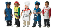 Image for Children's Factory Community Helper Tunics with Hoods, Set of 5 from School Specialty