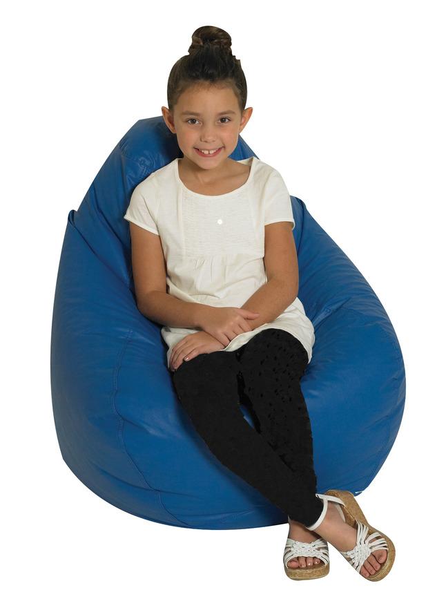 Children S Factory Tear Drop Premium Beanbag Chair Vinyl