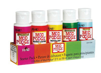Mod Podge Sealer and Finish, 2 Ounce Bottle, Set of 5 Item Number 1426453