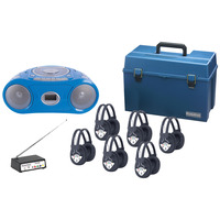 Listening Centers, Classroom Listening Center, Whisperphone Supplies, Item Number 1428505