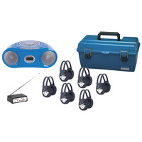 Listening Centers, Classroom Listening Center, Whisperphone Supplies, Item Number 1428507