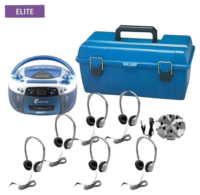 Listening Centers, Classroom Listening Center, Whisperphone Supplies, Item Number 1428512