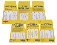 Circuit Training Equipment, Circuit Training for Kids, Circuit Training Cards, Item Number 1429482