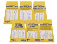 Circuit Training Equipment, Circuit Training for Kids, Circuit Training Cards, Item Number 1429483