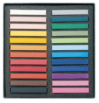 Lyra Polycrayons Soft Pastels Sticks, Assorted Colors, Set of 24 Item Number 1430638