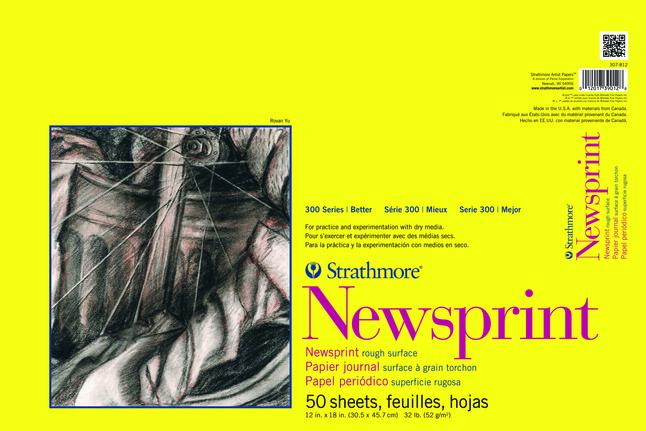 Newsprint Paper, Newsprint Pads, Item Number 1433686