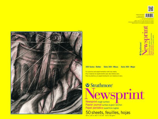 Newsprint Paper, Newsprint Pads, Item Number 1433687