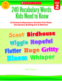 Vocabulary Games, Activities, Books Supplies, Item Number 1434465