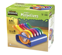 Learning Resources Primary Science Jumbo Magnifiers with Stand Item Number 1435431