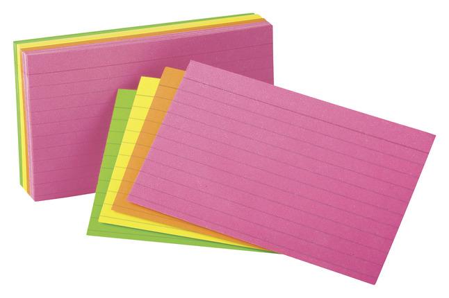 3X5 Ruled Index Cards, Item Number 1437856