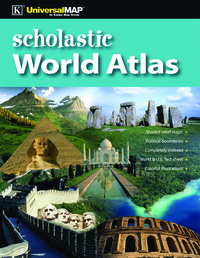 World Atlas, World Atlas Book, Atlas, Item Number 1438094