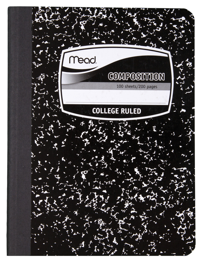 Composition Books, Composition Notebooks, Item Number 1438374