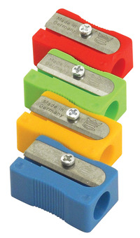 The Pencil Grip Inc Eisen Hand Held Plastic Pencil Sharpener, 2/3 x 1 x 1/2 Inches, Pack of 25 Item Number 1439410