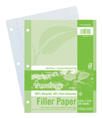 Notebooks, Loose Leaf Paper, Filler Paper, Item Number 1439677