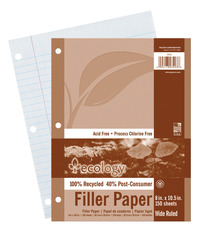 Notebooks, Loose Leaf Paper, Filler Paper, Item Number 1439678