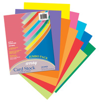 Array Card Stock Paper, 8-1/2 x 11 Inch, Assorted Colorful Colors, Pack of 250 Item Number 1439847