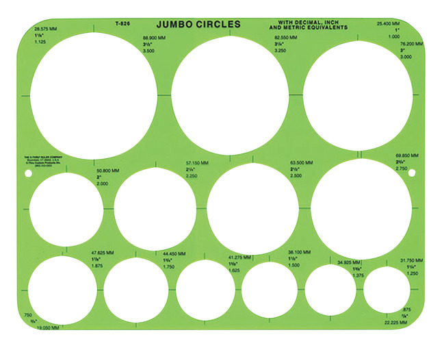 Stencils and Stencil Templates, Item Number 1440838