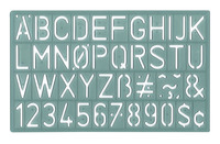 Stencils and Stencil Templates, Item Number 1440842