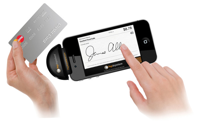 Payanywhere Mobile Credit Card Reader, for iOS Apple/Android/Blackberry,  Black