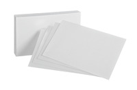 4x6 Blank Index Cards, Item Number 1443129