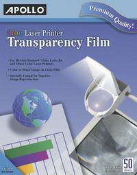 Overhead Transparency Film and Sheets, Item Number 1445126
