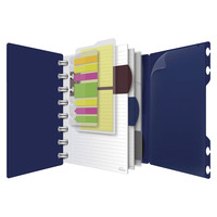 Esselte Versa Crossover Notebook, 5-1/2 x 8-1/2 in, Ruled Ruling, Navy Item Number
