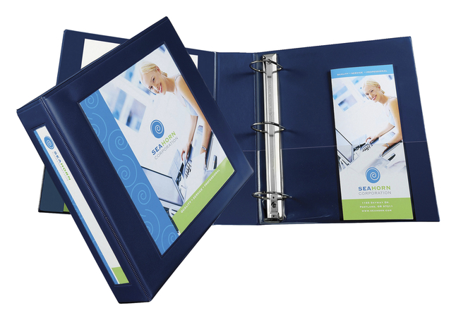 HeavyDuty Roundring Presentation Binders, Item Number 1445851