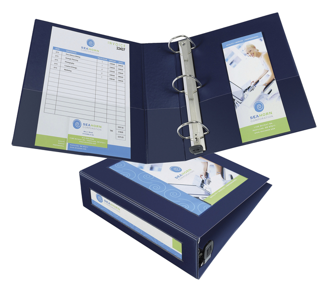 HeavyDuty Roundring Presentation Binders, Item Number 1445856