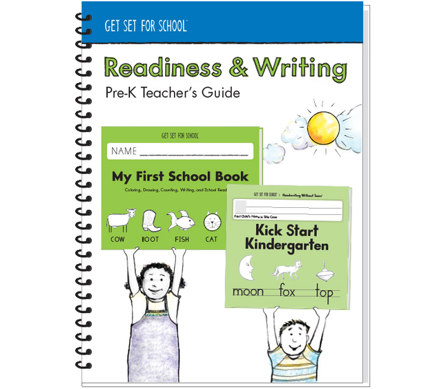 Handwriting Without Tears Readlines and Writing Teachers Guide, Grade PreK