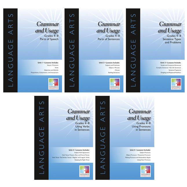 Grammar Books, Grammar Activities Supplies, Item Number 1452817