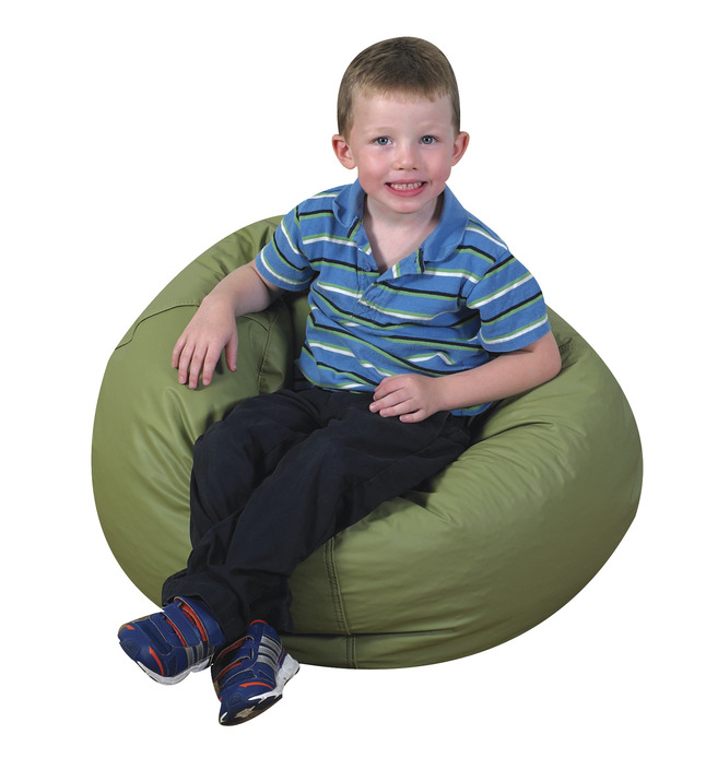Tremendous Childrens Factory Premium Beanbag Chair 26 In Dia Sage Alphanode Cool Chair Designs And Ideas Alphanodeonline
