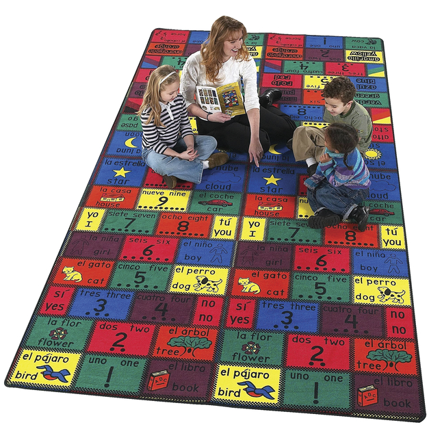 Kids and Billingual Rugs Supplies, Item Number 082430