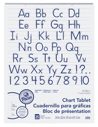 Chart Tablets, Chart Supplies, Item Number 1457443