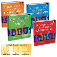 Differentiated Instruction Books, Differentiated Instruction Strategies, Differentiated Instruction Supplies, Item Number 1458306
