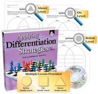 Differentiated Instruction Books, Differentiated Instruction Strategies, Differentiated Instruction Supplies, Item Number 1458309