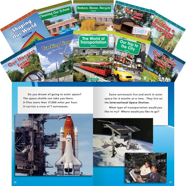 Math Reader Sets, Book Libraries Supplies, Item Number 1458399