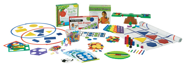 Learning Resources Common Core State Standards Math Kit, Grade K